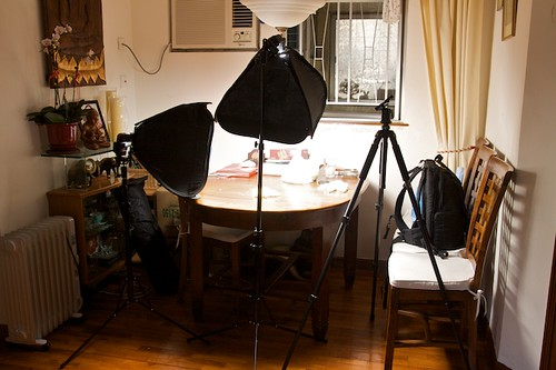 Softboxes for Home Studios