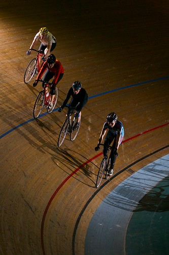 Learning stacking at Newport Velodrome