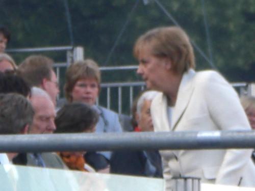 Berlin Germany:Angela Merkel von Ihnen.