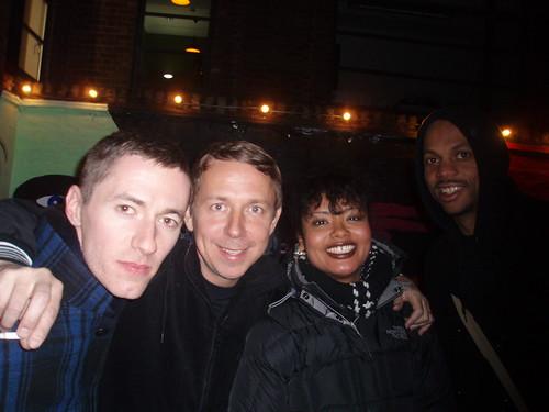 Benji, Gilles, Stacy & Everett