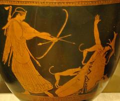 Àrtemis mata Acteó