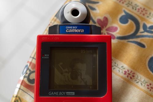 Gameboy Camera en acción