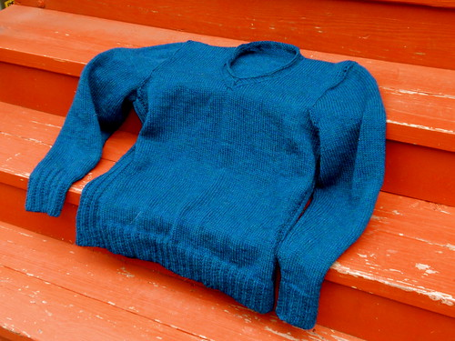 C's sweater, finished!