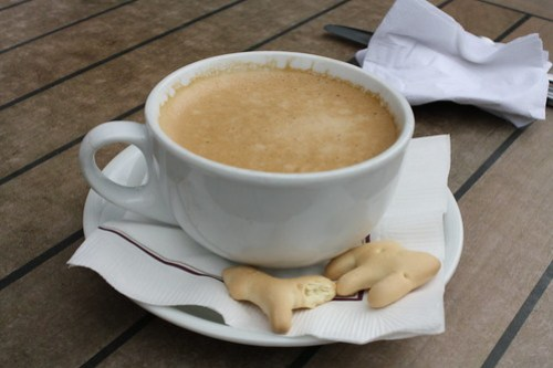 Open City - Cuban Coffee with Animal Crackers