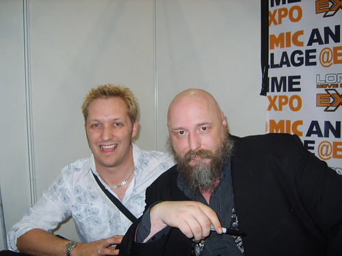 Me & Warren Ellis