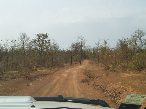 Rural road in Phine district