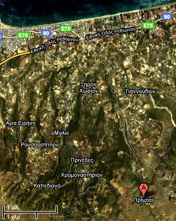 prassano map
