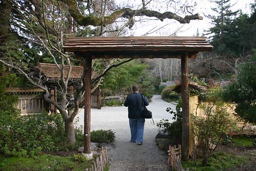 husband in a gate
