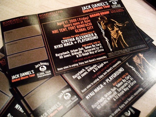 Jack Daniel's Global Music Tour tickets