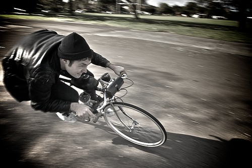 Hell on wheels (pic Matt Holmes )