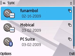 Funambol syncML Server