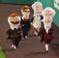 Presidents Race Tryouts