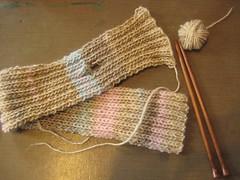 FO Keyhole scarf