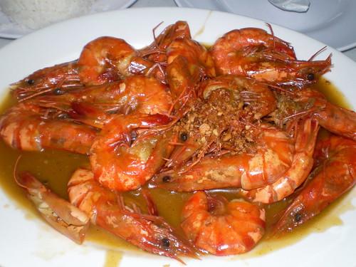 Shrimp in Chili-Garlic Sauce