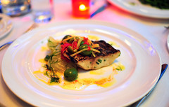 Char-Grilled Striped Bass