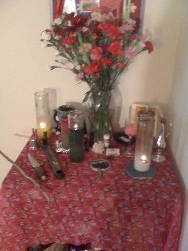 Beltane Altar