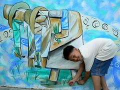 Pinili Mural_Planting Rice