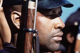 Denzel Washington in Glory