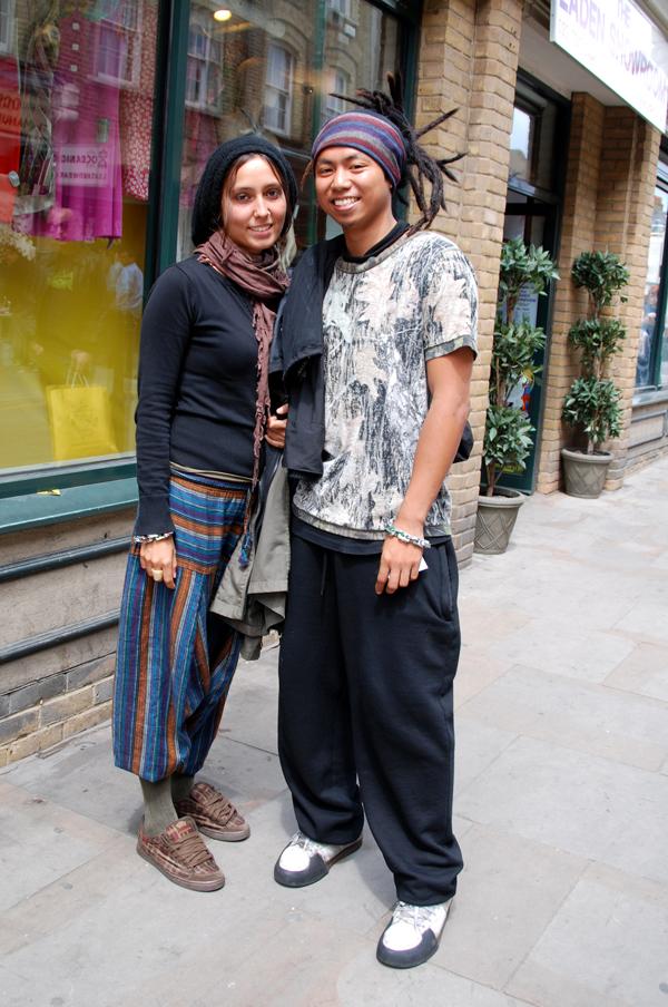 THE STYLE SCOUT London Street Fashion Rasta Grunge