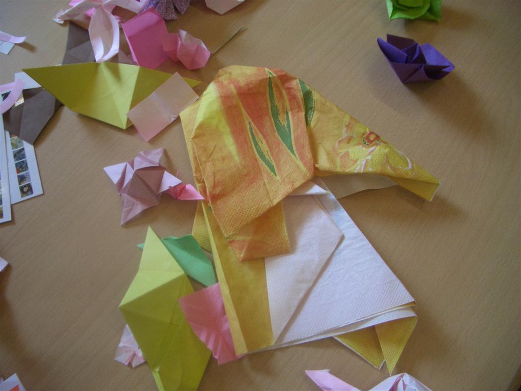 napkin elephant