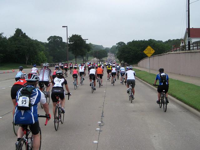 Mass Of Riders