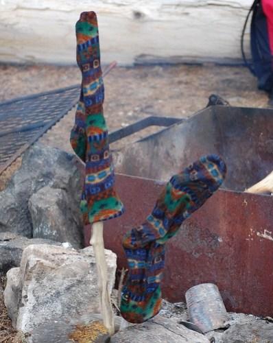 roasted socks