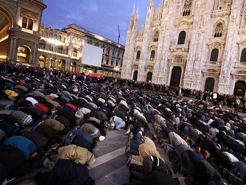 Piazza Duomo, Milano, 3. Januar 2009