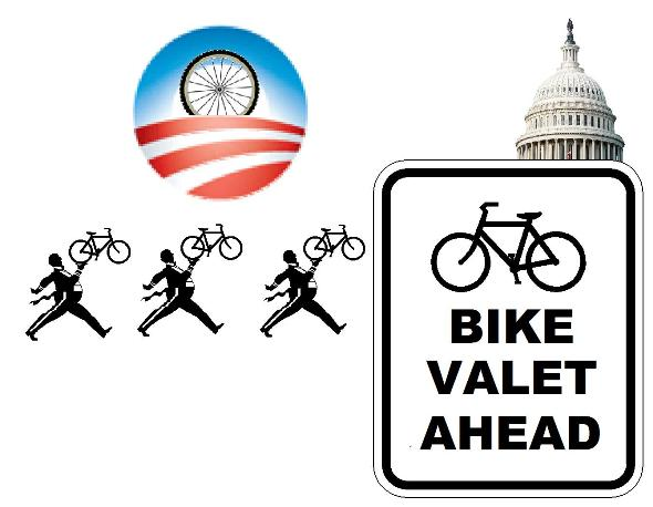 Inauguration Day 2-Wheel Deal -- Free Bike Valet Parking