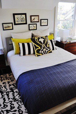 the estate of things chooses bedroom graphic rug