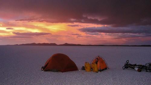 Camping, Salar de Uyuni