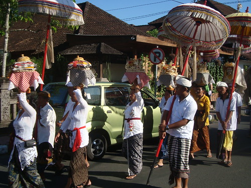 Beautiful festivals in Bali (this is for New Years)