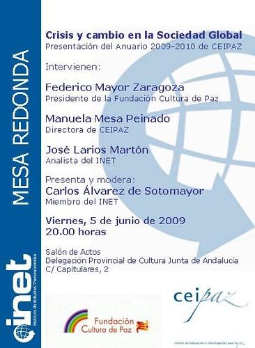 Conferencia Crisis y Cambio en la Sociedad Global.