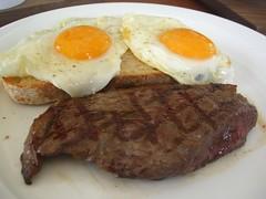Wagyu Rump Steak and Eggs - Jones the Grocer, ...