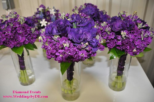 Bridesmaid Bouquet's