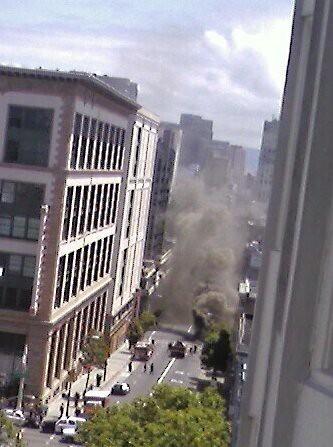 Vault Fire on O'Farrell