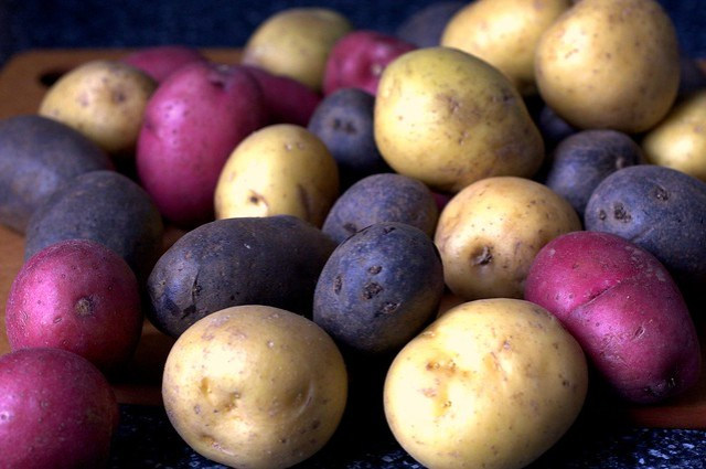 rainbow potatoes