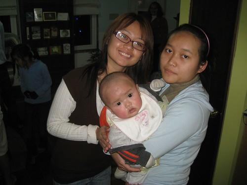 Sugar Moon, her sister Christina & Sumalee