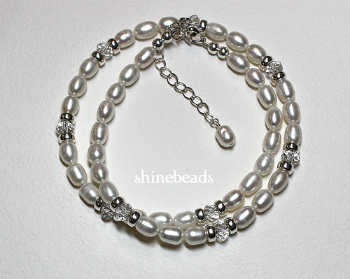 Freshwater pearl necklace 3