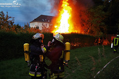 Gartenhausbrand Dotzheim 15.06.11
