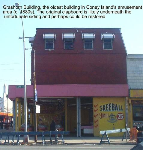 Grashorn Building, April 19, 2003.  Municipal Art Society via flickr