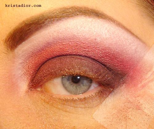 Blended Eye with Medical Tape