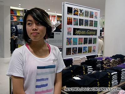 Japanese games UT tee-shirts