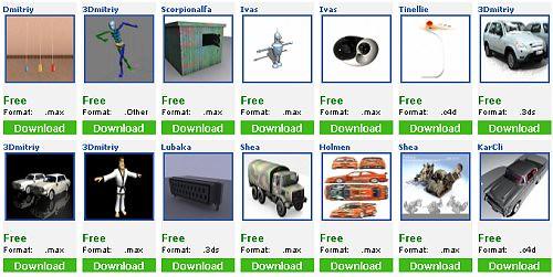 60 Excellent Free 3D Model Websites