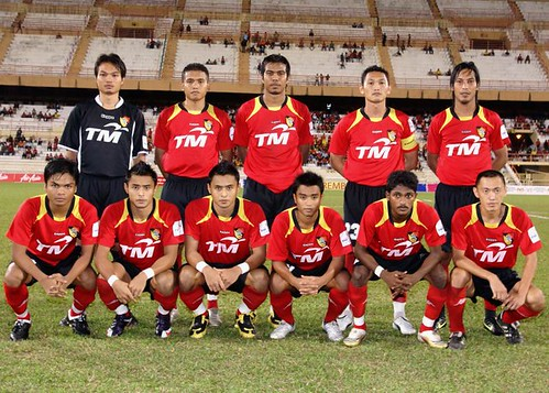 Negri starting eleven against Penang FA