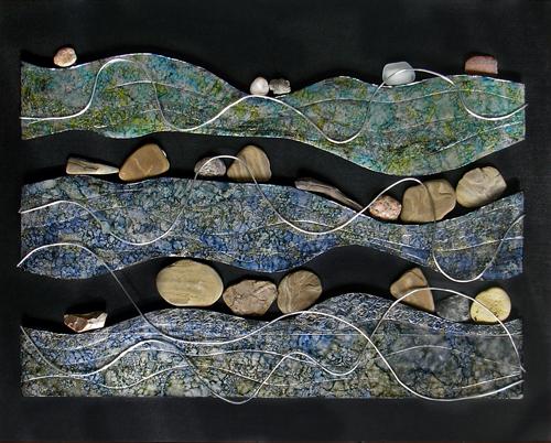 river rocks #2 (c) Lynne Medsker
