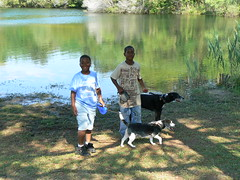 Maple Park - Jacal and Jamontae with Dogs