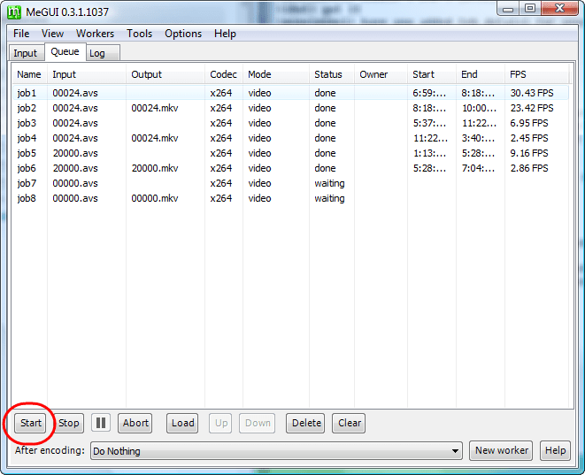 x264 blu ray encoding guide