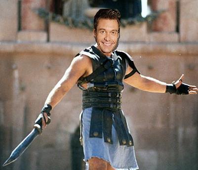 American Idol goes Gladiator - Seacrest Maximus