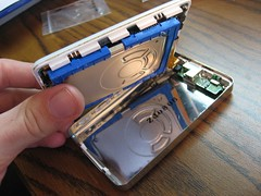 Inside the case