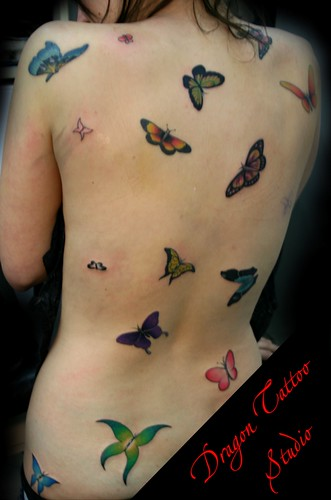 Butterfly tattoo www.dovmemalzemesi.net